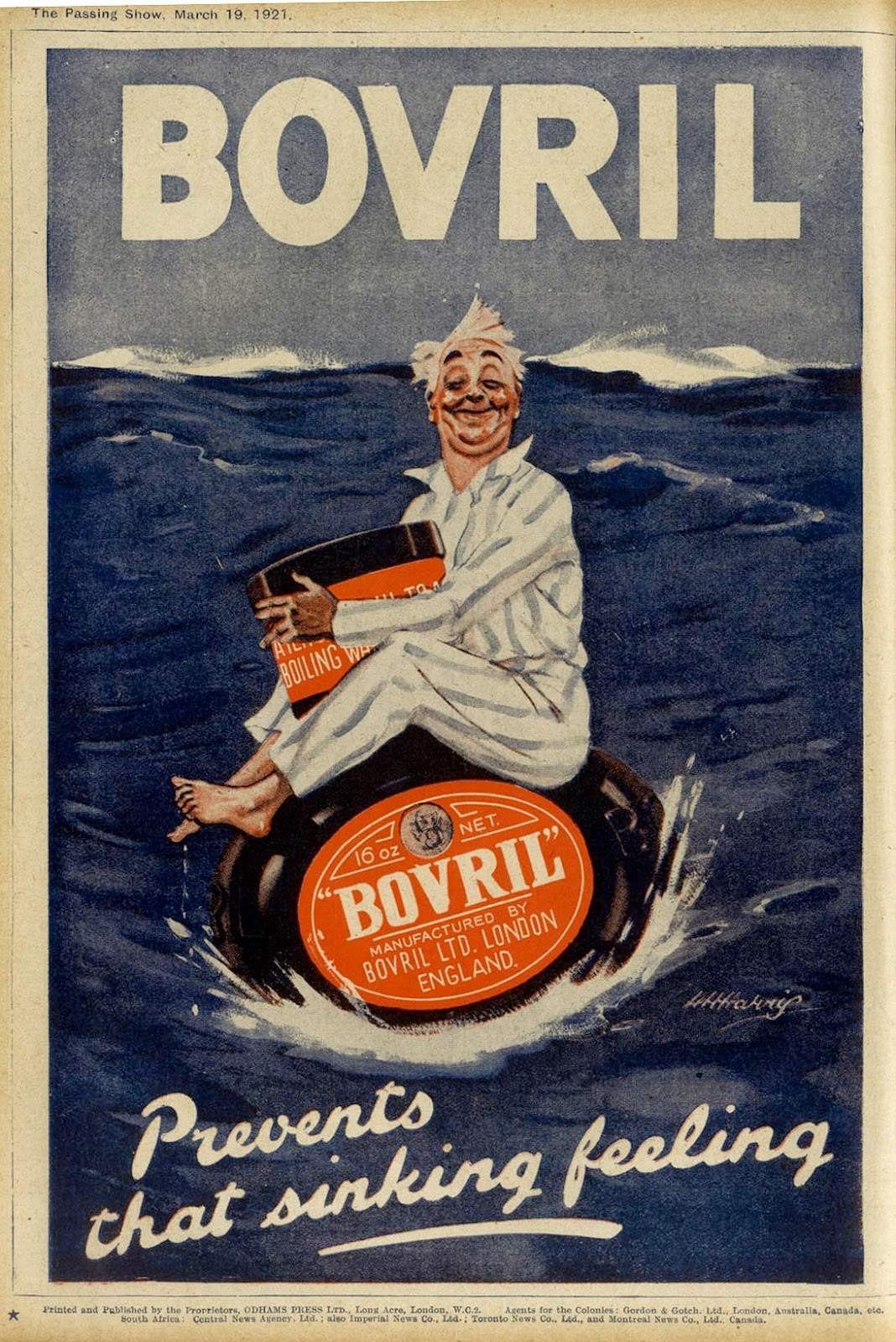 BOVRIL meat-extract prevents that sinking feeling