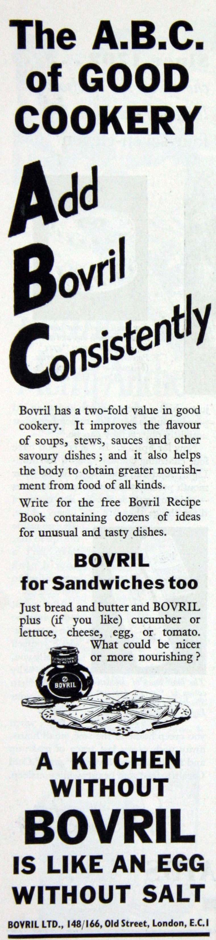 Bovril meat extract 1935
