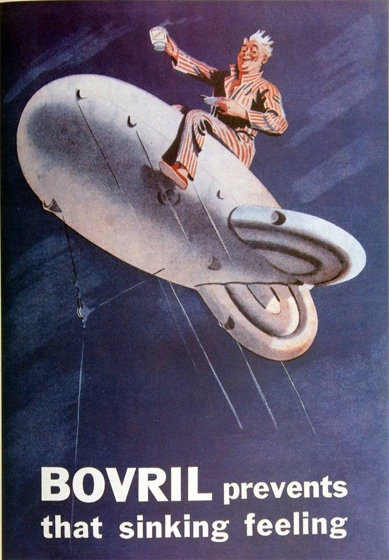 Bovril Barrage Balloon September 1939