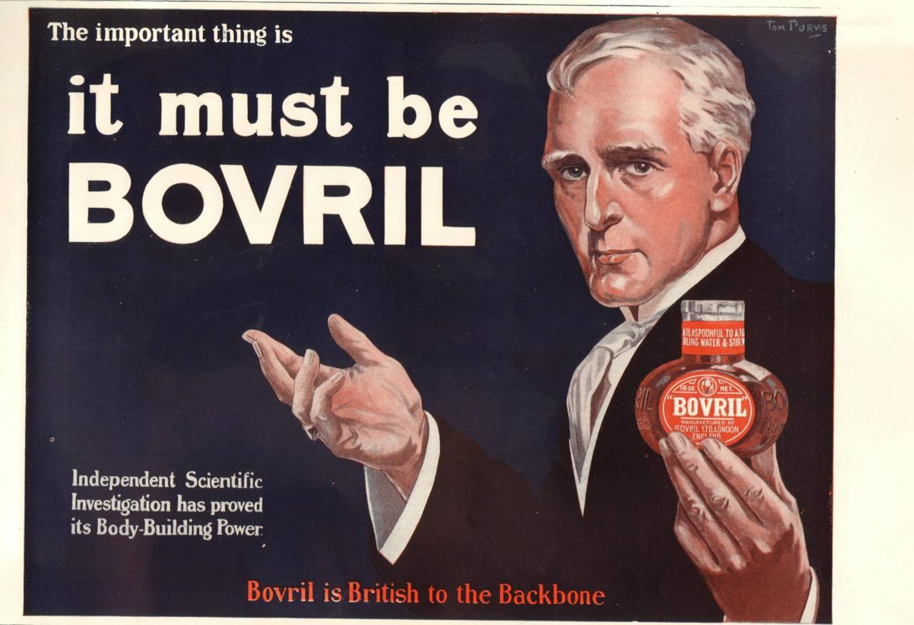 Bovril is British to the Backbone 1914
