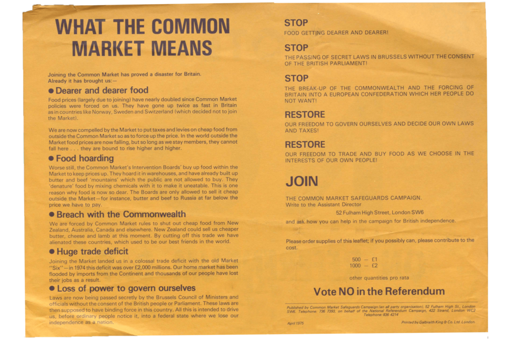 Common Market Safeguards