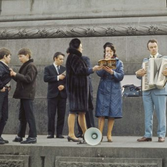 Stunning Photographs of London in 1970/71 by David Wisdom