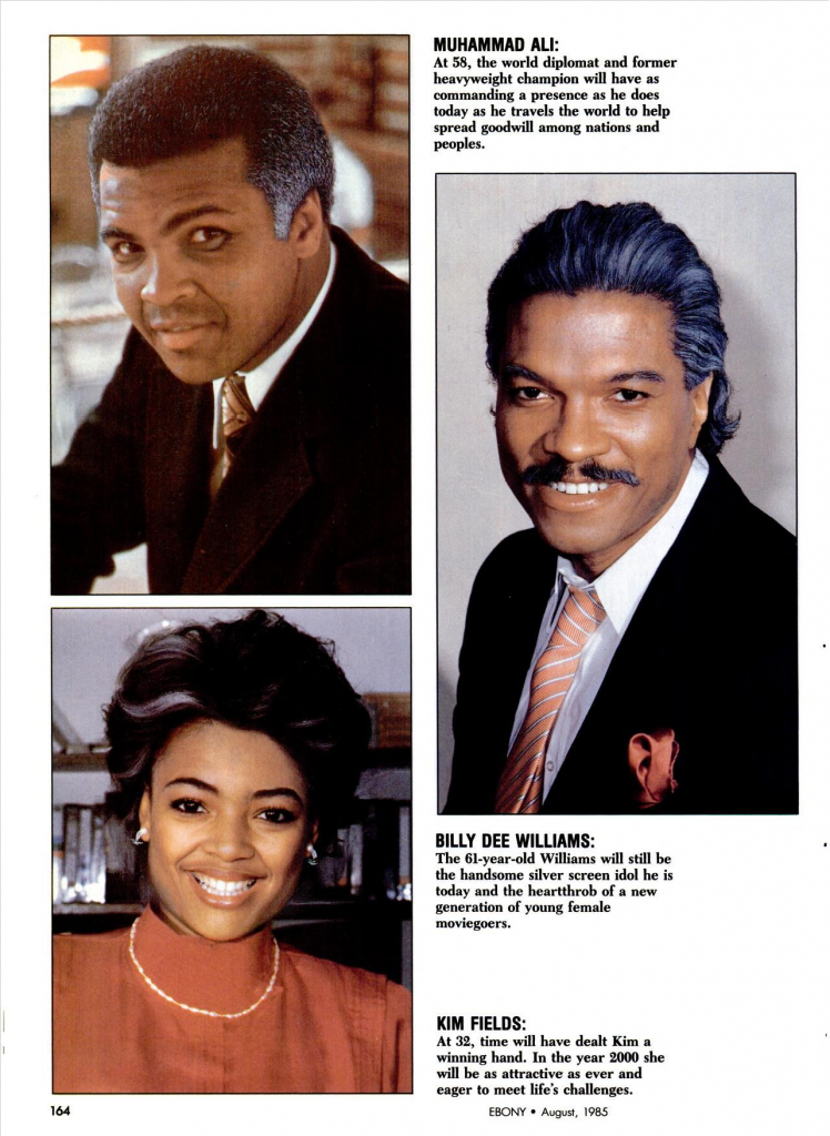 1985 Ebony Magazine Reveals What Michael Jackson Will Look Like In The Year 2000 -7730