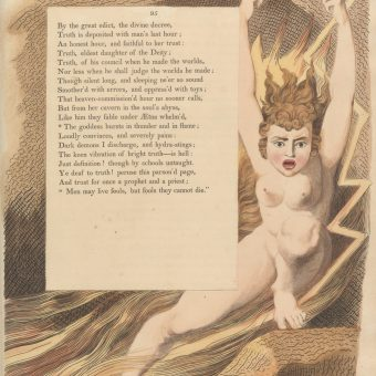 William Blake's Illustrations For Edward Young's Night Thoughts (1794)