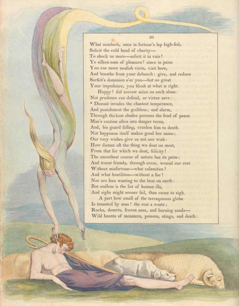 Edward Young William Blake illustrates