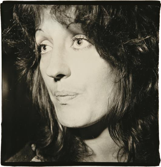 Germaine Greer by Diane Arbus