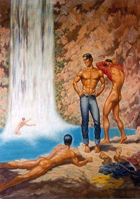 George Quaintance art homoerotic gay