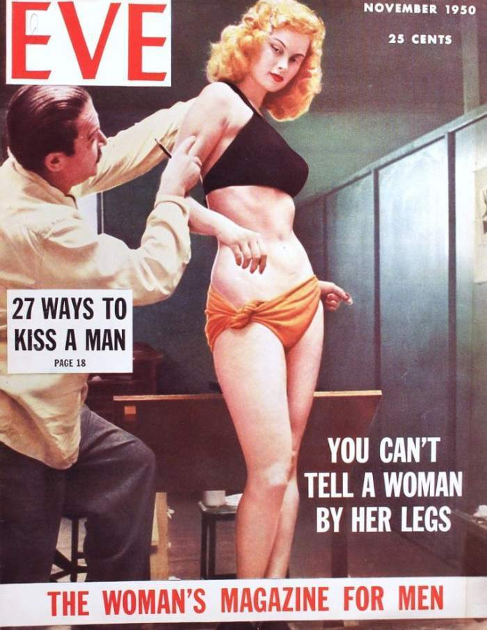 Irish McCalla pinup vargas cover