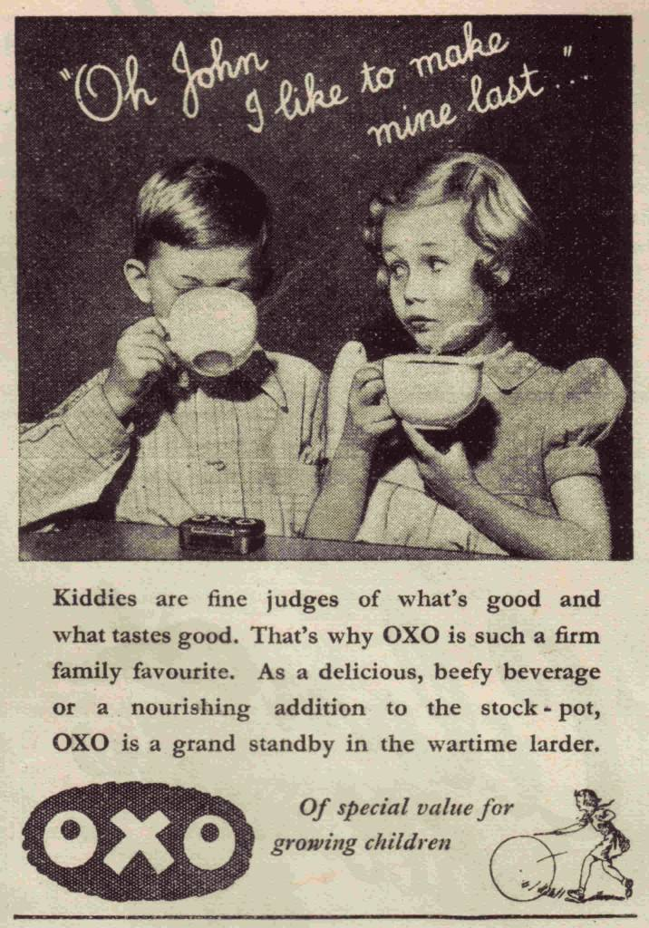 """Oh John I like to make mine last..."" OXO Punch - October 19th 1942"