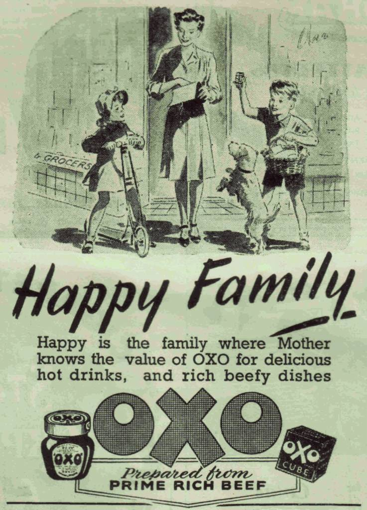 OXO ad from Punch - October 23rd 1944