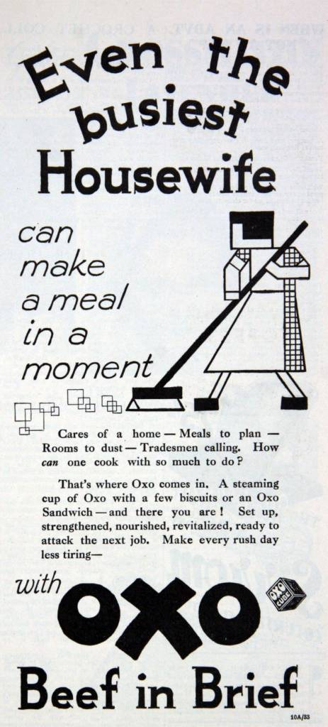 """Beef in Brief"" - ad from 1933"