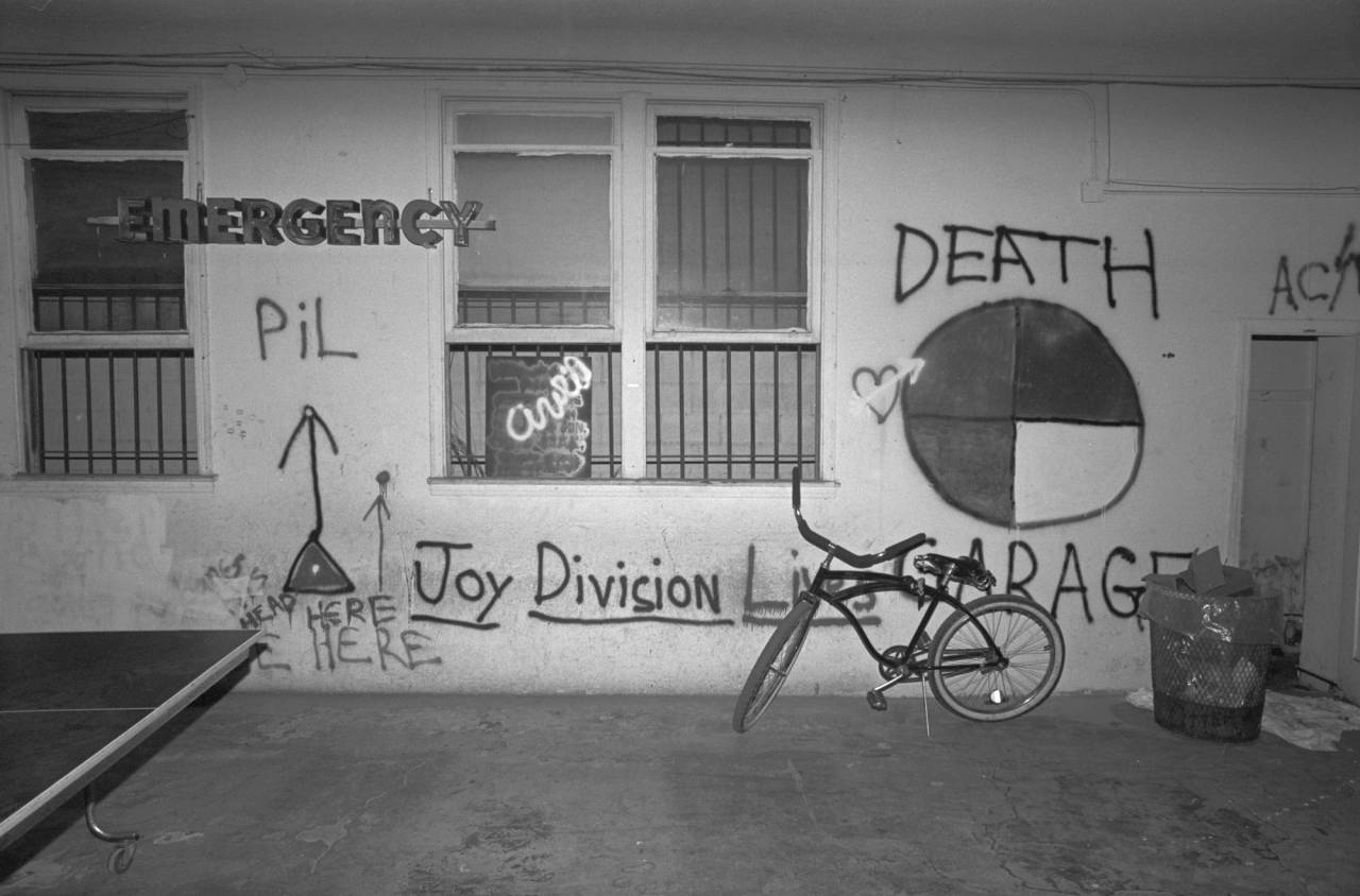 punk, A friend's loft – we graffitied his place for fun. Downtown LA, 1981.