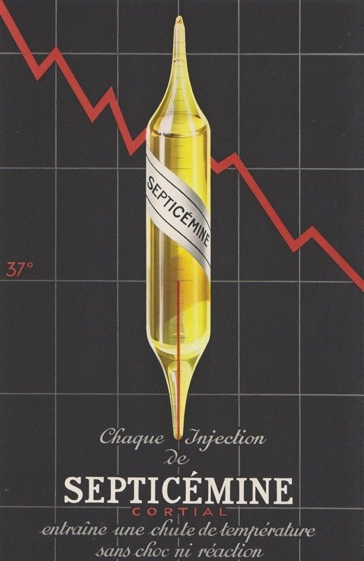 Septicemine Pharmaceutical Ads 1930s France