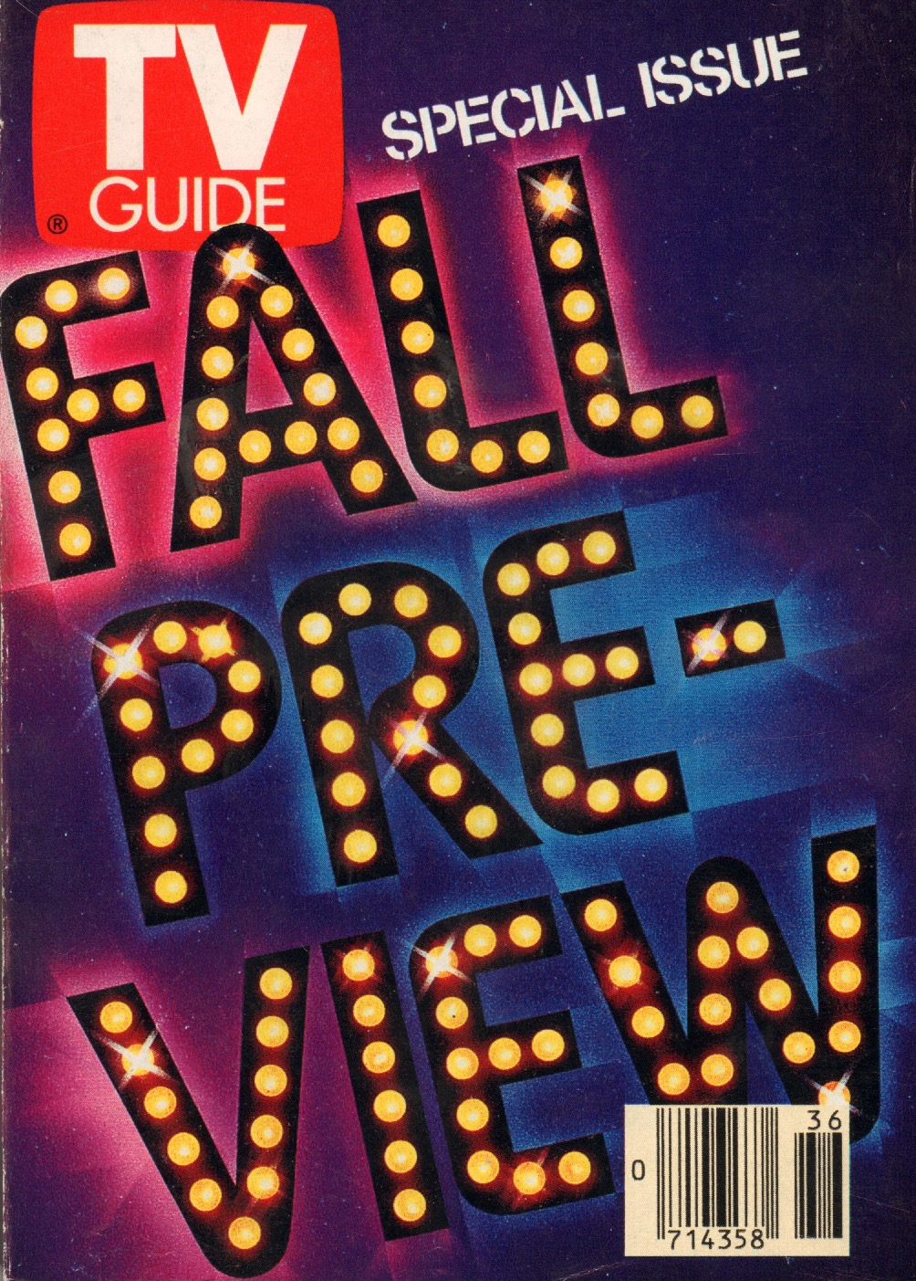Vintage TV Guide: Fall Preview 1989 - Flashbak