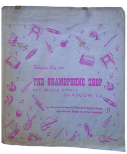 British record store bags