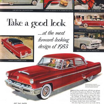 'Femineered' Ads From The Saturday Evening Post (Feb 14, 1953)