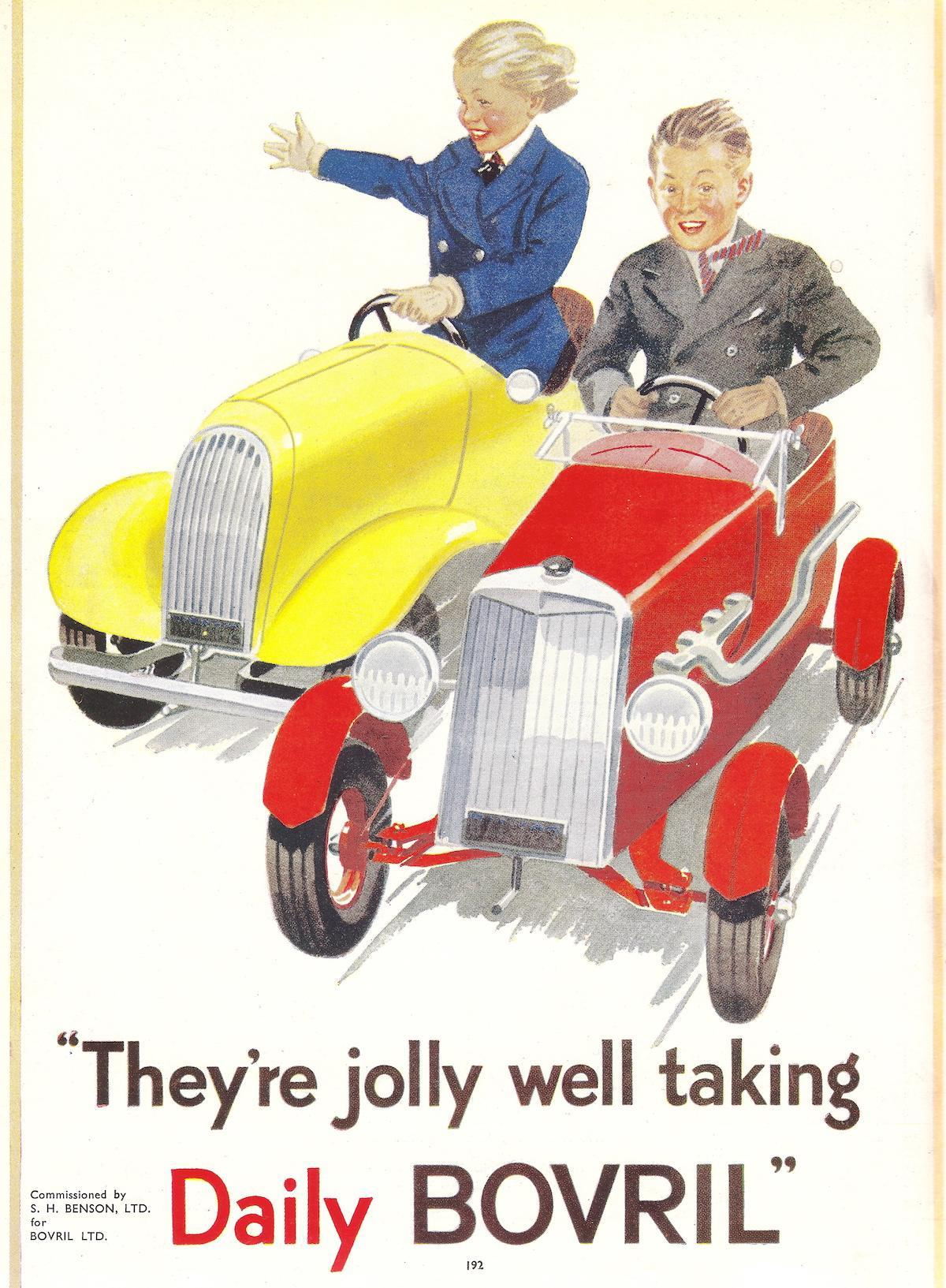 They're jolly well taking Daily Bovril - advert - 1939