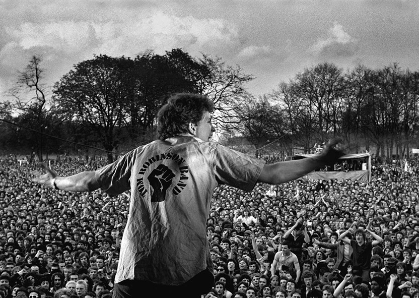 Tom Robinson TRB, Rock Against Racism Carnival 1 Victoria Park, London 1978