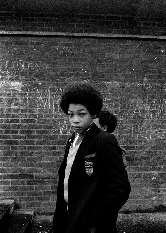 Tulse Hill School Brixton, London 1977
