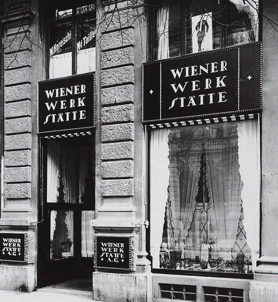 A shop selling crafts from the Wiener Werkstatte