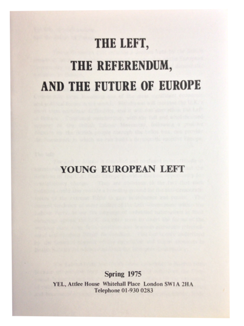 Young European Left