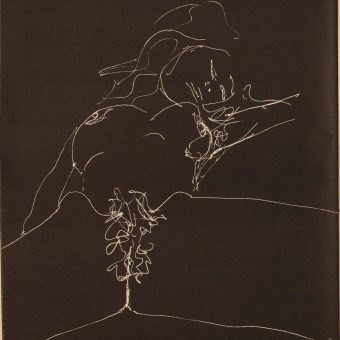 Erotic Lithographs by John Lennon in Avant-Garde Magazine