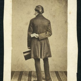 A Question Remains: Found Photographs of People Seen From Behind