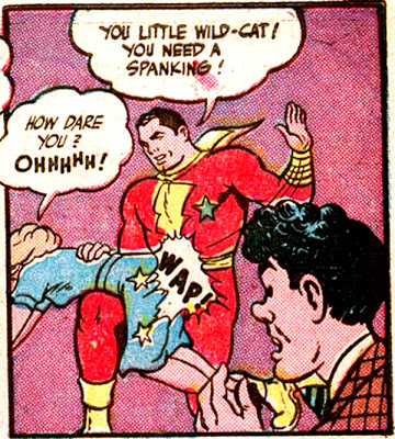 captain_marvel_adventures_wheaties_spanking