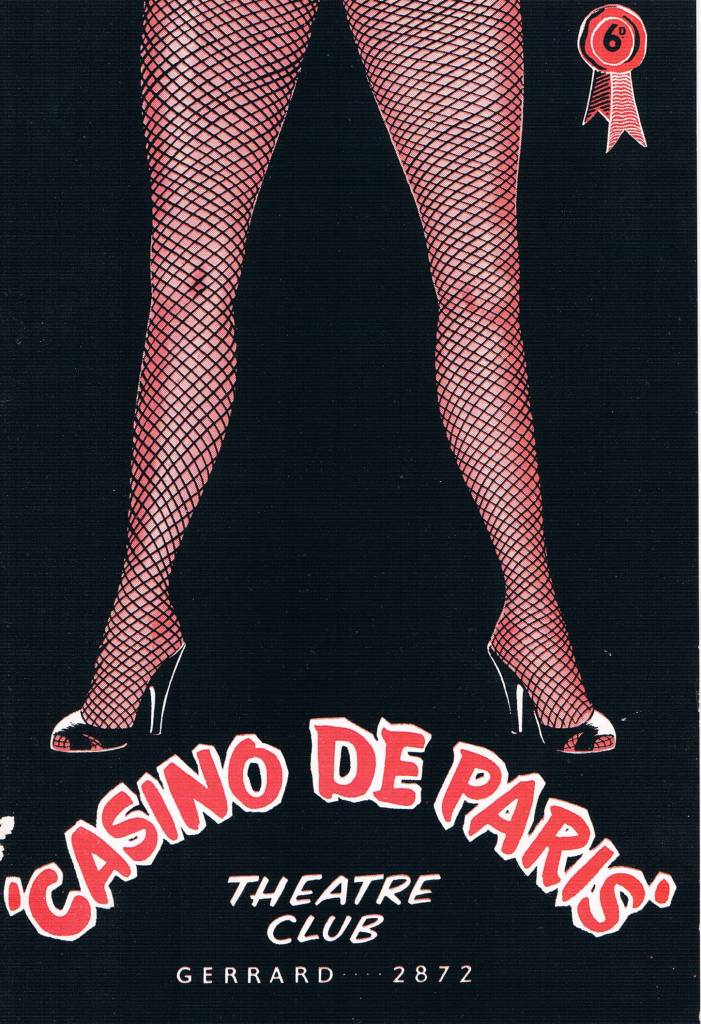 Soho London strippers sex casinso de paris