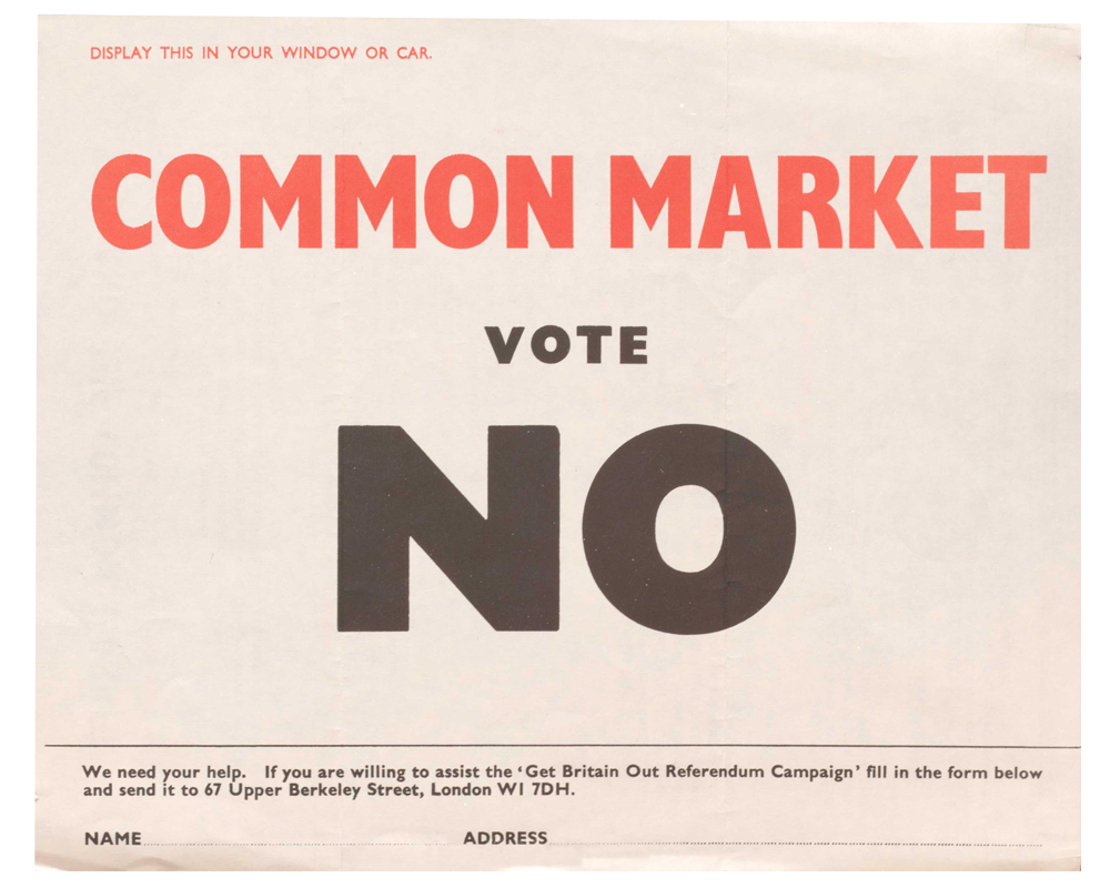 Common Market Vote