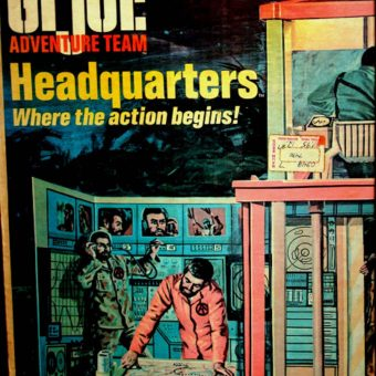 Have a Different Adventure Every Day: The G.I. Joe Adventure Team Headquarters