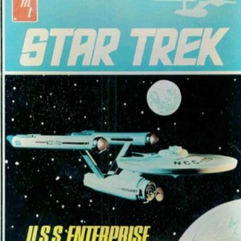 Build Your Favorite Starship: A Gallery of AMT Star Trek Models