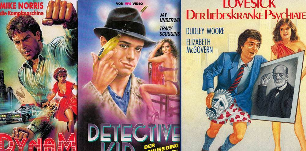 german vhs covers 1980s