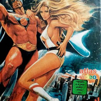 German VHS Movie Art From The 1980s