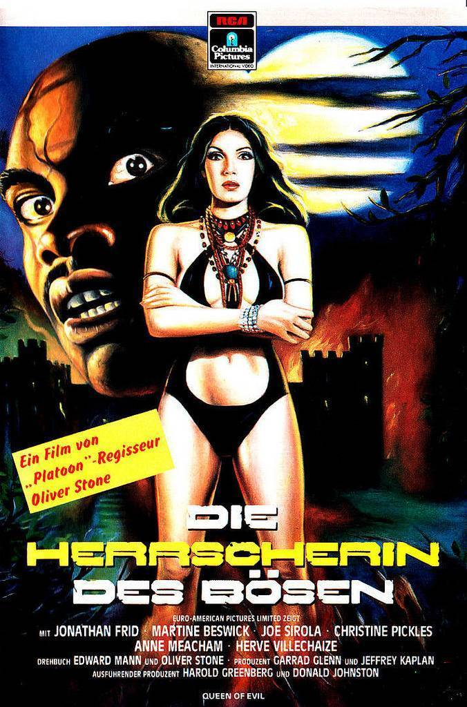 german vhs covers 1980s occult video