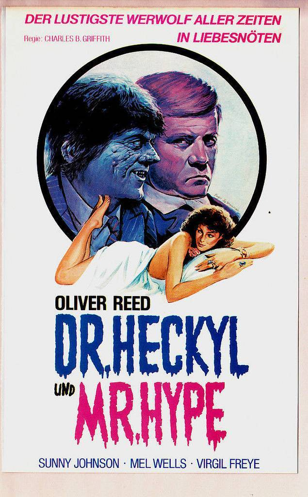german vhs covers 1980s oliver reed
