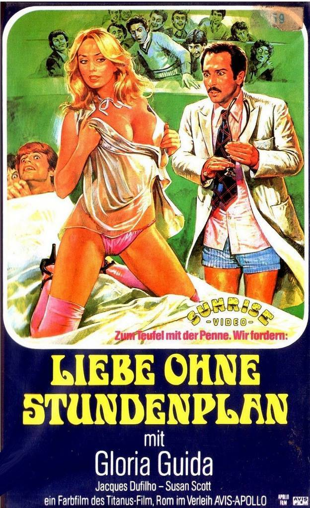 german vhs covers 1980s sex tape