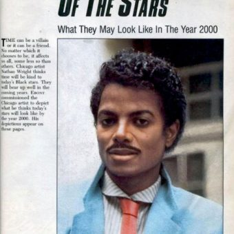 1985 Ebony Magazine Reveals What Michael Jackson Will Look Like In The Year 2000