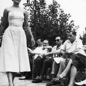 Sophia Loren At The Miss Rome Contest (1950)