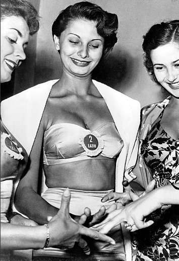 sophia loren beauty Miss Italia 1950
