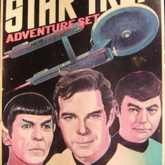 "Travel into ""Unexplored Territory"" with Star Trek Colorforms (1975)"