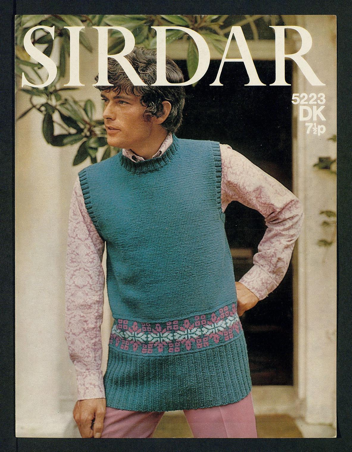Encantador Sirdar Double Knitting Patterns Embellecimiento - Manta ...