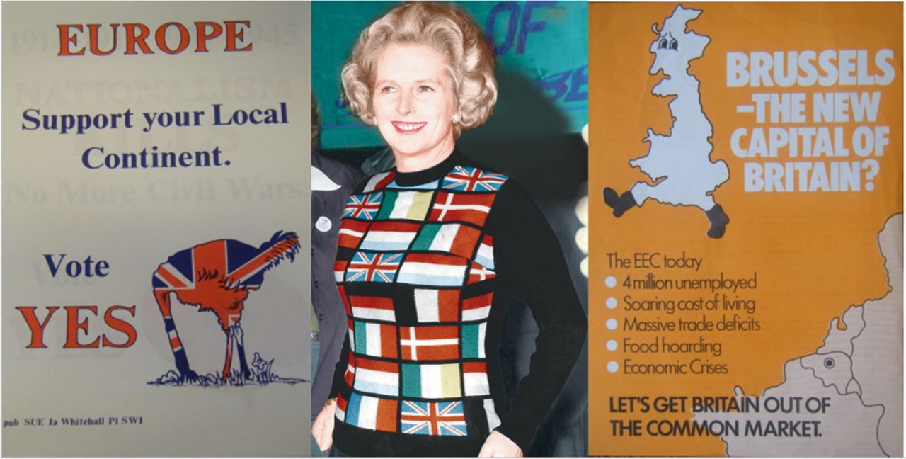Margaret Thatcher 1975 referendum Europe Common Market