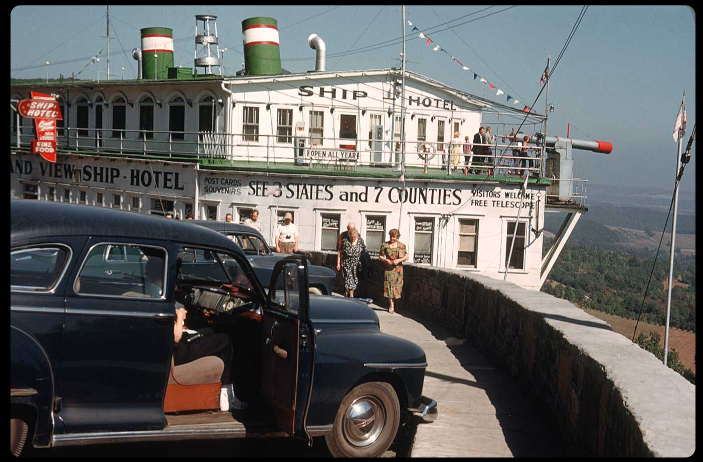 1950s American Vacations In Kodachrome Flashbak