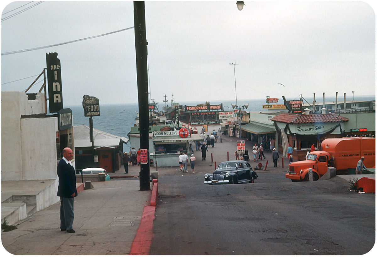 Fisherman's Wharf, Redondo Beach — August 1953