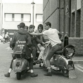 Brilliant Mod Revival Photos and Ephemera by Paul Wright 1979-1980