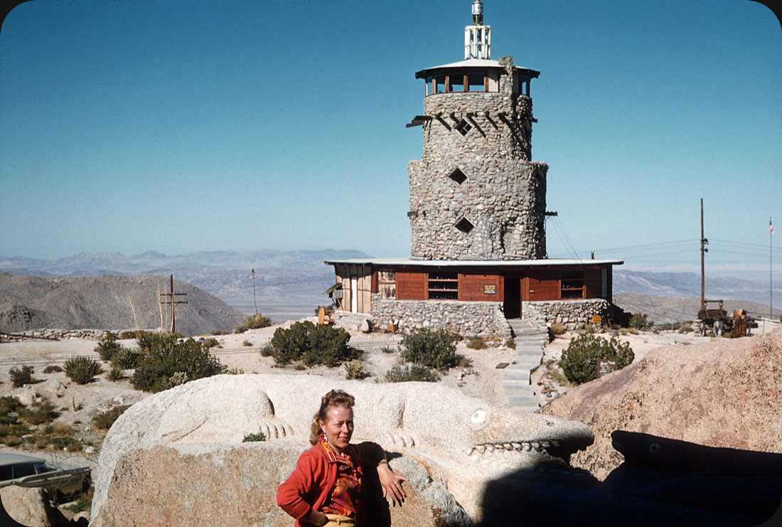 Desert View Lookout Tower, Jacumba, CA – 1959