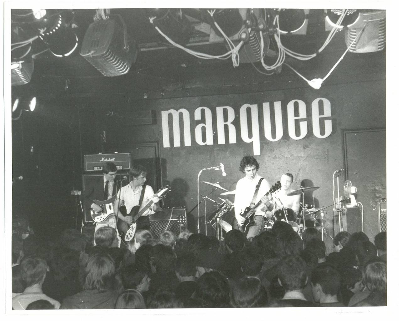 The Chords played at the Marquee in 1979.