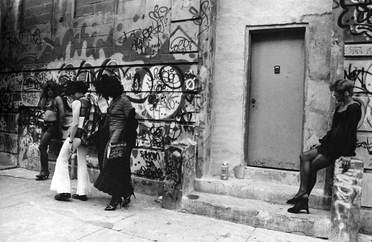 Neighborhood Characters, Fifth Street Squat, 1994, New York