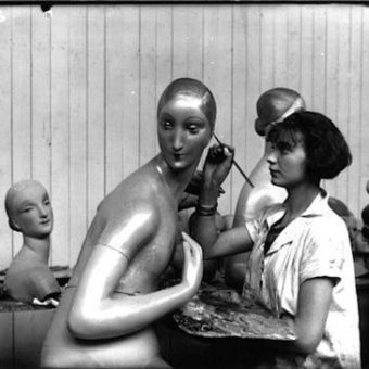 Pierre Imans' Wax Mannequins And The Ideal Female Body